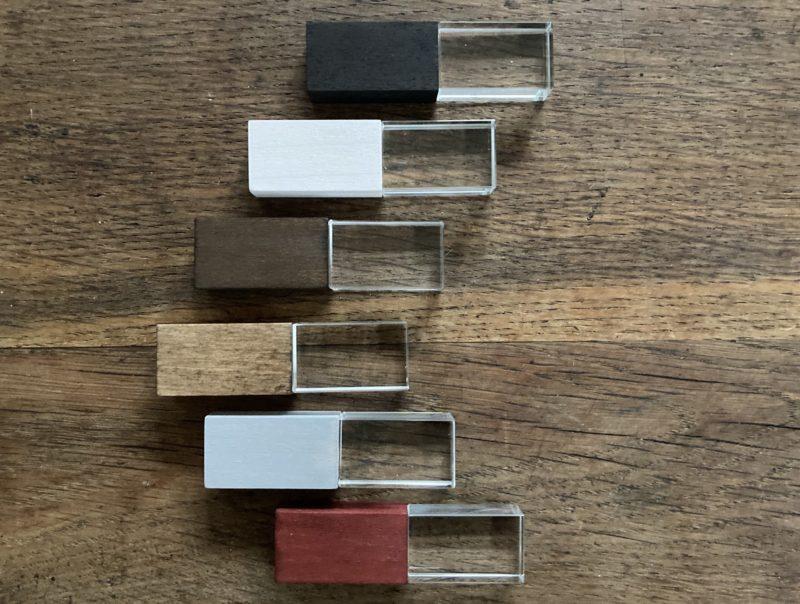 USB-Stick: Kristall Wood